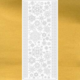 Kontúrmatrica - hókristály, arany, 0232