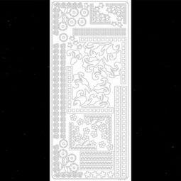 Kontúrmatrica - sarok és bordűr II, fekete, 0215  - AKCIÓS