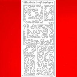 Kontúrmatrica - keret EC, piros, 0359  - AKCIÓS
