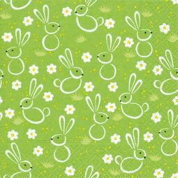 Szalvéta csomagban - Húsvéti rét