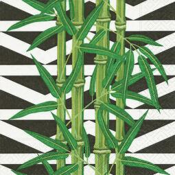 Szalvéta - Bambusz levelek (kk)