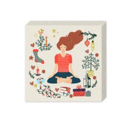 Szalvéta csomagban - Békés jóga