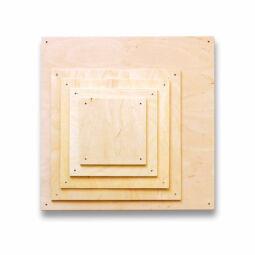 Fa lap szalvéta technikához - 16x16 cm, rétegelt lemez