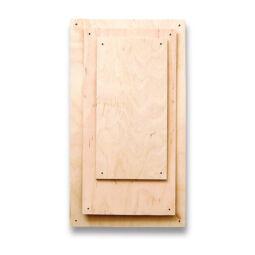 Fa lap szalvéta technikához - 12x24 cm, rétegelt lemez