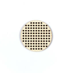 Fa forma hímezhető - kör, 4 cm