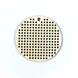 Fa forma hímezhető - kör, 5 cm