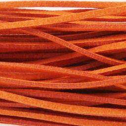 Bőrszíj, 90 cm - narancs