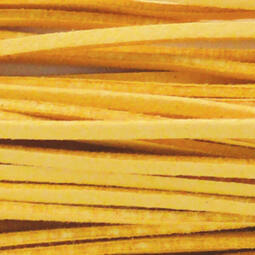 Bőrszíj, 90 cm - sárga