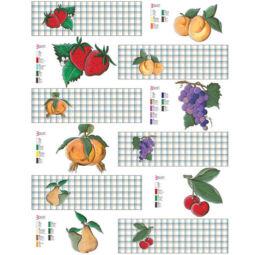 Esprimo decoupage papír - gyümölcsbefőtt