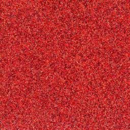 Dekorgumi - csillámos piros