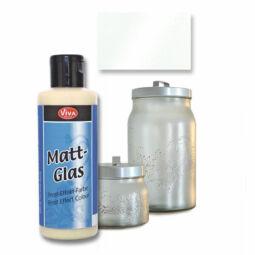 Matt Glas szatináló festék - gyöngyház, 905, 82 ml