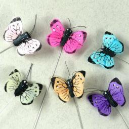Pillangó, kicsi, 4 cm, 1 db
