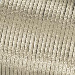 Ékszerzsinór, selyemzsinór, 2 mm - 06, ekrü
