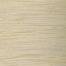 Ékszerzsinór, 0,5 mm vékony, méterben - 02, krém