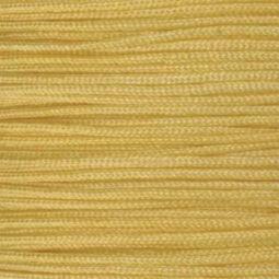 Ékszerzsinór, 0,5 mm vékony, méterben - 07, sárga