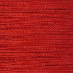 Ékszerzsinór, 0,5 mm vékony, méterben - 28, piros