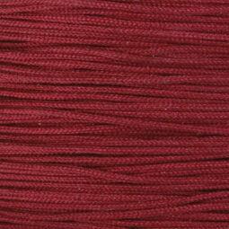 Ékszerzsinór, 0,5 mm vékony, méterben - 29, bordó
