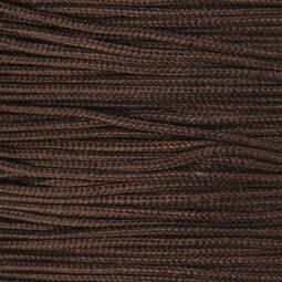 Ékszerzsinór, 0,5 mm vékony, méterben - 79, sötétbarna