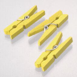 Facsipesz, 30 mm - sárga, 1 db