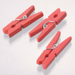 Facsipesz, 30 mm - piros, 1 db