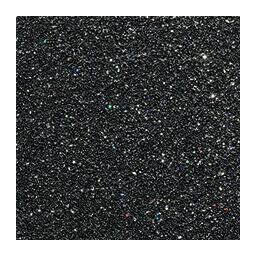 Glitterkarton, A4, 200 g - fekete