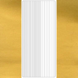 Kontúrmatrica - egyenes csík, arany, 1799