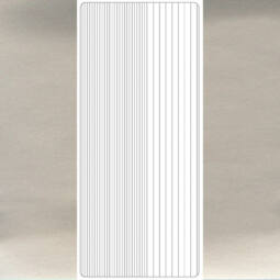 Kontúrmatrica - egyenes csík, ezüst, 1799