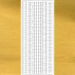 Kontúrmatrica - vékony csíkok, 5 féle, arany, 1990