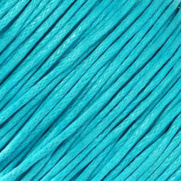 Viaszolt szál, 1 mm-es méterben - 114 vízkék
