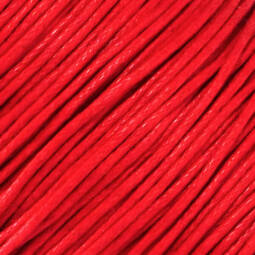 Viaszolt szál, 1 mm-es méterben - 119 piros