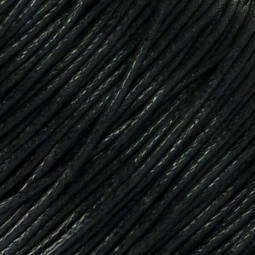 Viaszolt szál, 1 mm-es méterben - 131 fekete