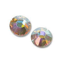 2078 Swarovski Xilion Rose Hotfix vasalható kristály, SS16 (3,9 mm) - Crystal AB
