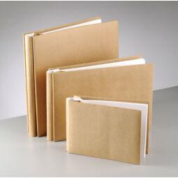 Papírmasé fotóalbum, fűzött - 30x31 cm