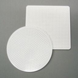 Nabbi vasalható gyöngy alap - kerek/négyzet, 15 cm