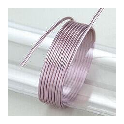 Alumínium drót, 2 mm, 5 m - lila