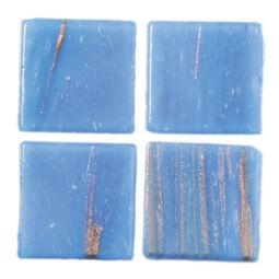 MosaixPro aranyvonalas mozaik, 2x2cm - 48 kék