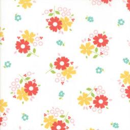 Akció! Patchwork anyag - Moda - Flower Mill 29031-11