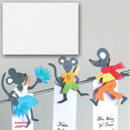 Akvarellkarton, A4, 220 g - 02, fehér
