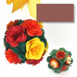 Tónuspapír, 50x70 cm - 75, csokoládébarna