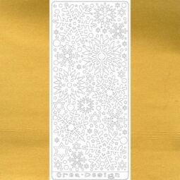 Kontúrmatrica - hópelyhek, arany, 4047