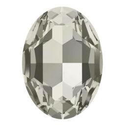 4127 Swarovski ovális befoglalható kristály, 30x20 mm - Crystal Silver Shade