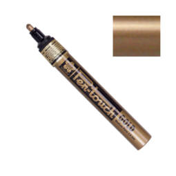 Pen-touch lakkfilc - gold, 2 mm, medium