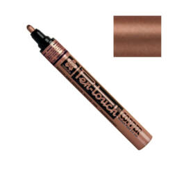 Pen-touch lakkfilc - copper, 2 mm, medium