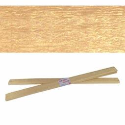 Krepp papír, 50x200 cm - gyöngyház, arany
