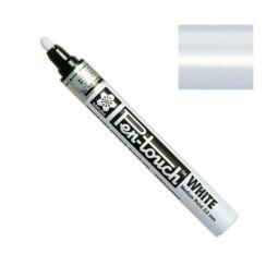Pen-touch lakkfilc - white, 2 mm, medium