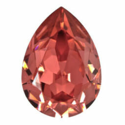 4320 Swarovski csepp alakú befoglalható kristály, 14x10 mm - Padparadscha