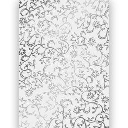 Transzparens papír, A4 - Millefiori ezüst