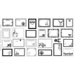 Akció! Patchwork anyag - Moda - Quilt label 5044-A Panel, 60cm