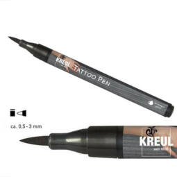 Tetováló filc, Tattoo pen, 0,5-3 mm - fekete