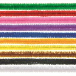 Zsenília, 50 cm - színes, 25
